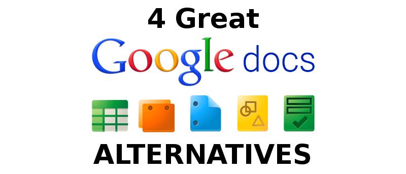4 grandes alternativas a Google Docs
