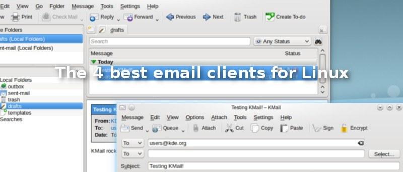 Los 4 mejores clientes de correo electrónico para Linux