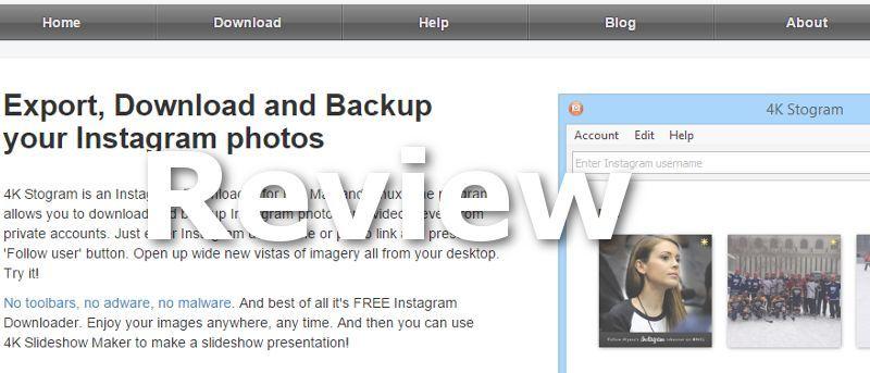 Descargue su biblioteca de imágenes de Instagram fácilmente en Linux con 4k Stogram