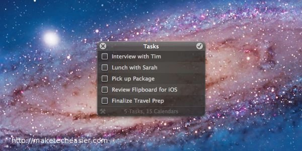 Ansiedad: una aplicación ligera para hacer para Mac