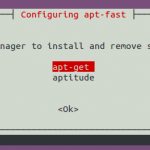 Utilice Apt-Fast para acelerar la descarga de paquetes en Ubuntu