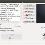 3 impresionantes aplicaciones de Ubuntu para la presentación de fondos de pantalla