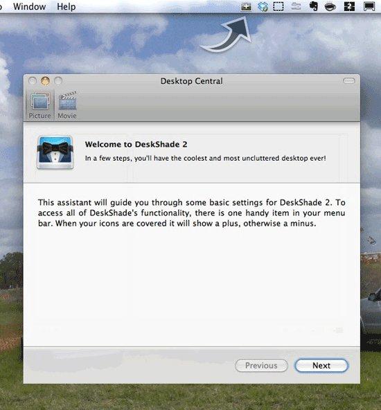 Cómo organizar el escritorio de su Mac con DeskShade