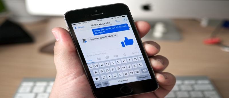 Cómo enviar un archivo de Dropbox en Facebook Messenger