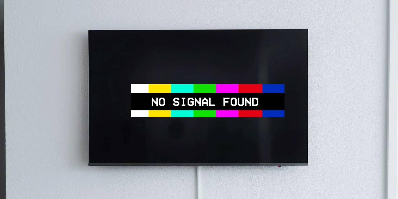 ¿Por qué mi televisor dice que no hay señal?? Una guía rápida de solución de problemas