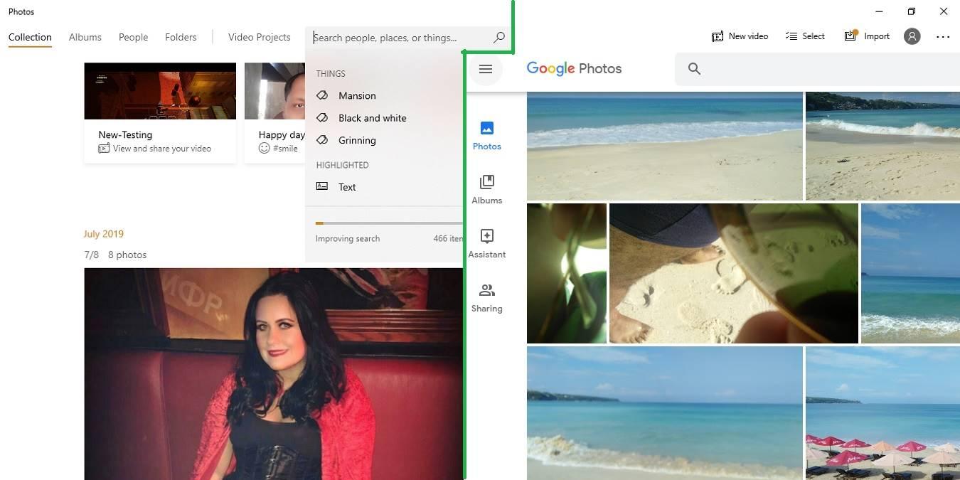 Cómo añadir las fotos de Google a la aplicación Fotos en Windows 10