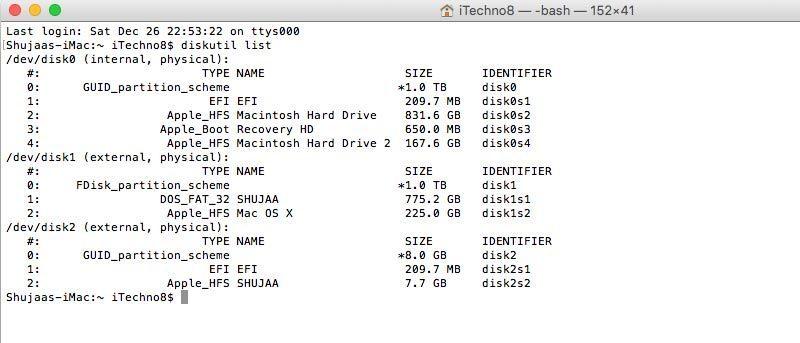 Cómo formatear una unidad externa en OS X