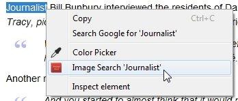 El diccionario de imágenes encuentra las imágenes relevantes para las palabras desconocidas [Google Chrome]