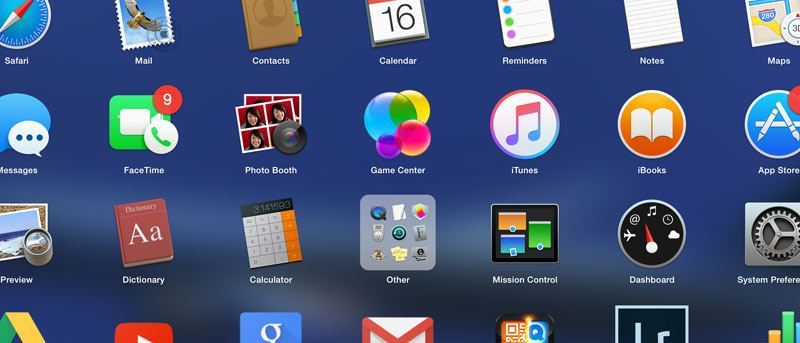 Cómo organizar sus aplicaciones con LaunchPad en OS X