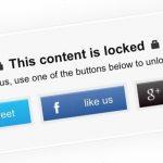 Consiga más comparticiones sociales para sus publicaciones en WordPress utilizando Social Locker