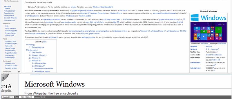 Cómo usar la lupa de Windows y sus alternativas para leer más fácilmente en la pantalla