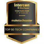 """tecnologiafacil.org ha sido galardonada con el premio """"Top 50 Tech Companies""""."""
