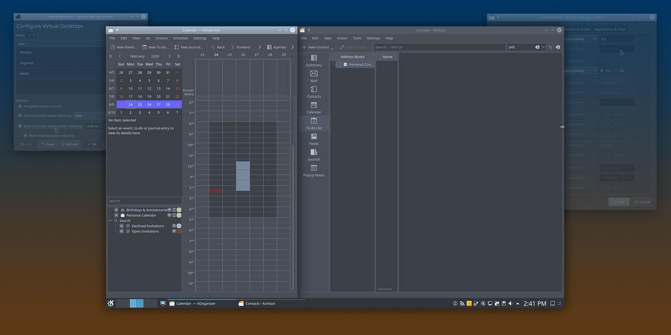 Cómo gestionar mejor las ventanas de sus aplicaciones en KDE