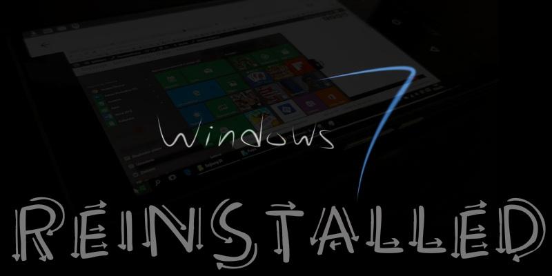 Cómo degradar Windows 10 y reinstalar Windows 7