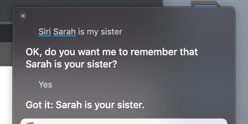 Cómo añadir una relación a un contacto en su Mac