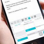 Thingthing - Una aplicación de teclado móvil para compartir archivos rápidamente