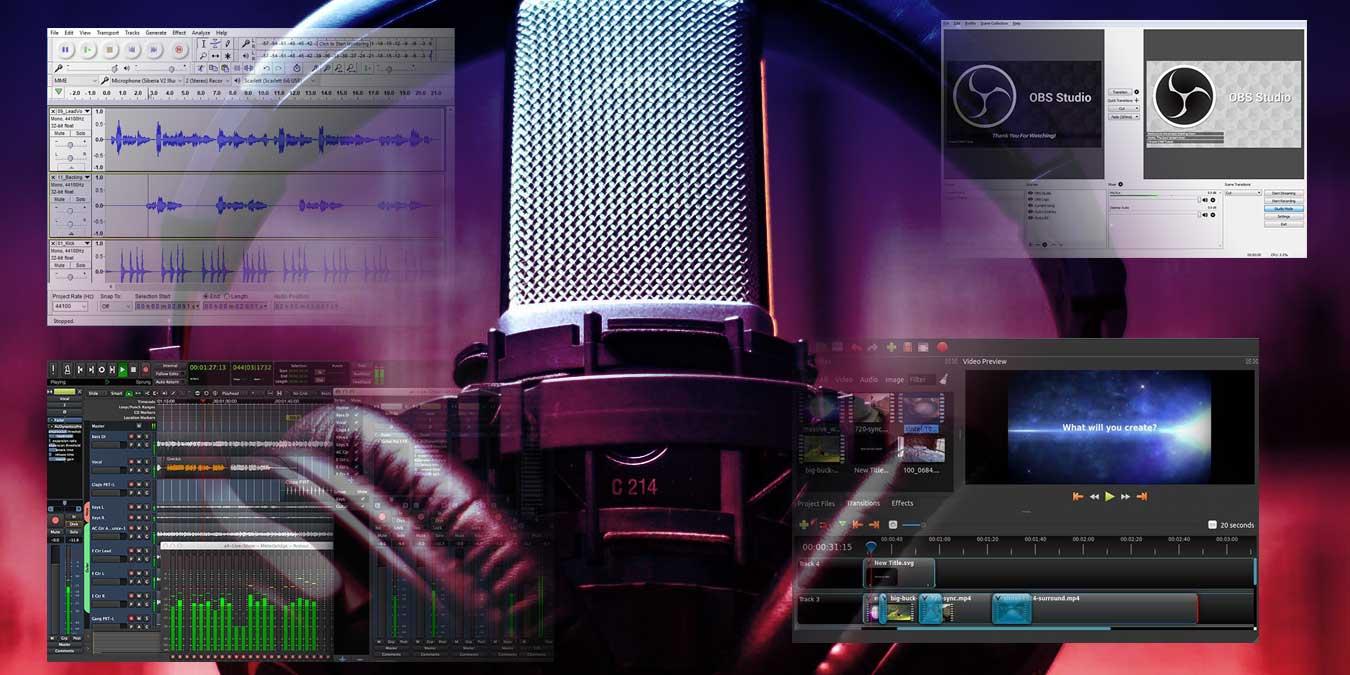 Herramientas esenciales para grabar podcasts de alta calidad en Linux