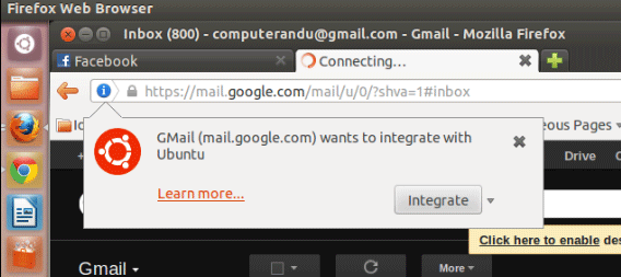 Cómo obtener la nueva función de aplicación web en Ubuntu Precise 12.04