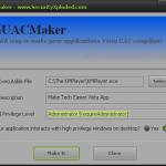 VistaUACMaker hace que sus aplicaciones de XP sean compatibles con Windows Vista y 7