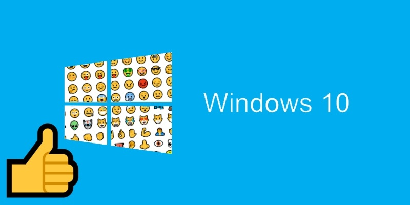 Cómo utilizar los emojis en Windows 10