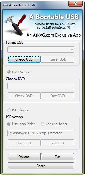 Una forma más de instalar Windows 7VistaServer 2008 desde una unidad USB