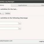 Cómo administrar sus archivos recientes (registro de archivos) en Ubuntu