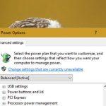 Activar o desactivar el brillo adaptativo en Windows 10