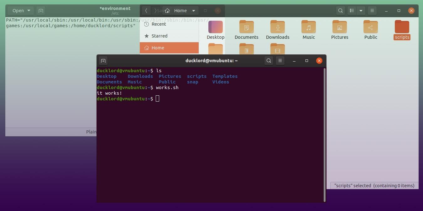 Cómo hacer que sus scripts sean ejecutables en cualquier lugar en Linux