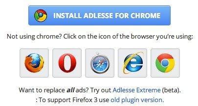 Cómo sustituir los anuncios de las páginas web por widgets útiles