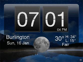 Cómo convertir su iPad en un reloj despertador de forma gratuita!