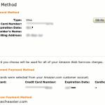 Cómo eliminar los datos de la tarjeta de crédito de su cuenta de Amazon AWS [Consejos rápidos]