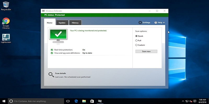 Cómo mantenerse seguro en Windows 10 sin usar un antivirus