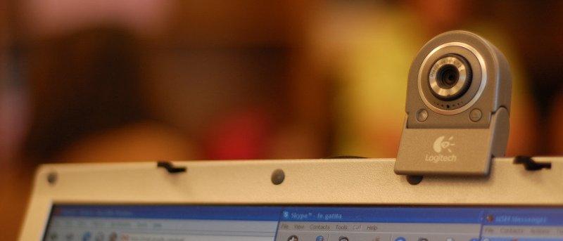 Utilice la cámara web de su ordenador como cámara de vigilancia