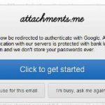 Cómo enviar un archivo grande adjunto por correo electrónico utilizando Attachments.me [Google Chrome]