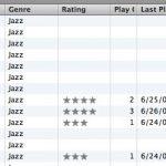 Califique automáticamente las canciones en su iTunes - Solo Mac