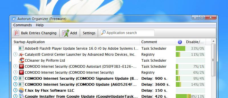 Gestione eficazmente los elementos de inicio en Windows con Autorun Organizer