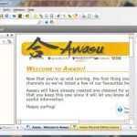 Vea al instante miles de canales RSS con Awasu