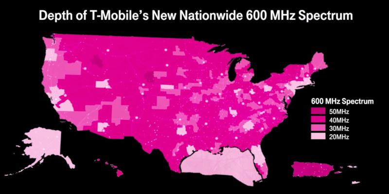 Qué significa la banda 71 de T-Mobile para sus abonados
