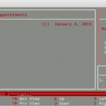 Cómo hacer un seguimiento de los eventos, las citas y las tareas cotidianas desde la línea de comandos de Linux