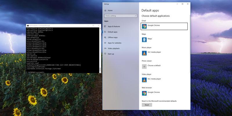 Cómo cambiar, restablecer y reemplazar las asociaciones de archivos en Windows 10