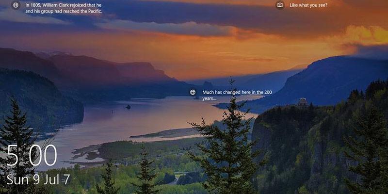 Cómo cambiar la imagen de la pantalla de inicio de sesión de Windows 10