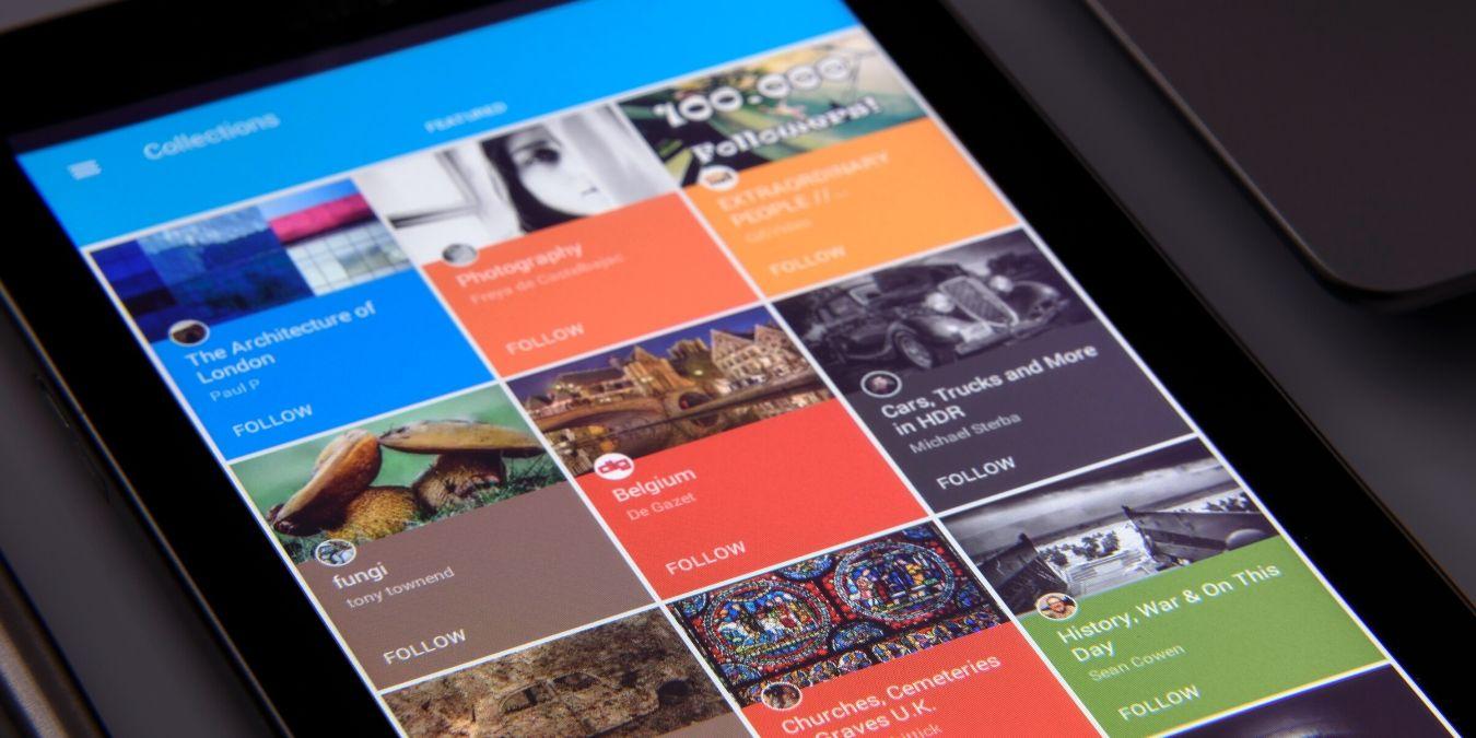 Diferentes tipos de tablets y monitores