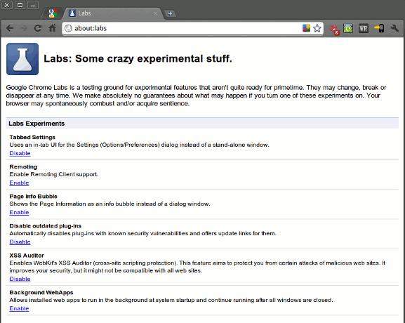 Google Chrome para Linux ahora viene con las características de About:Labs [Noticias]