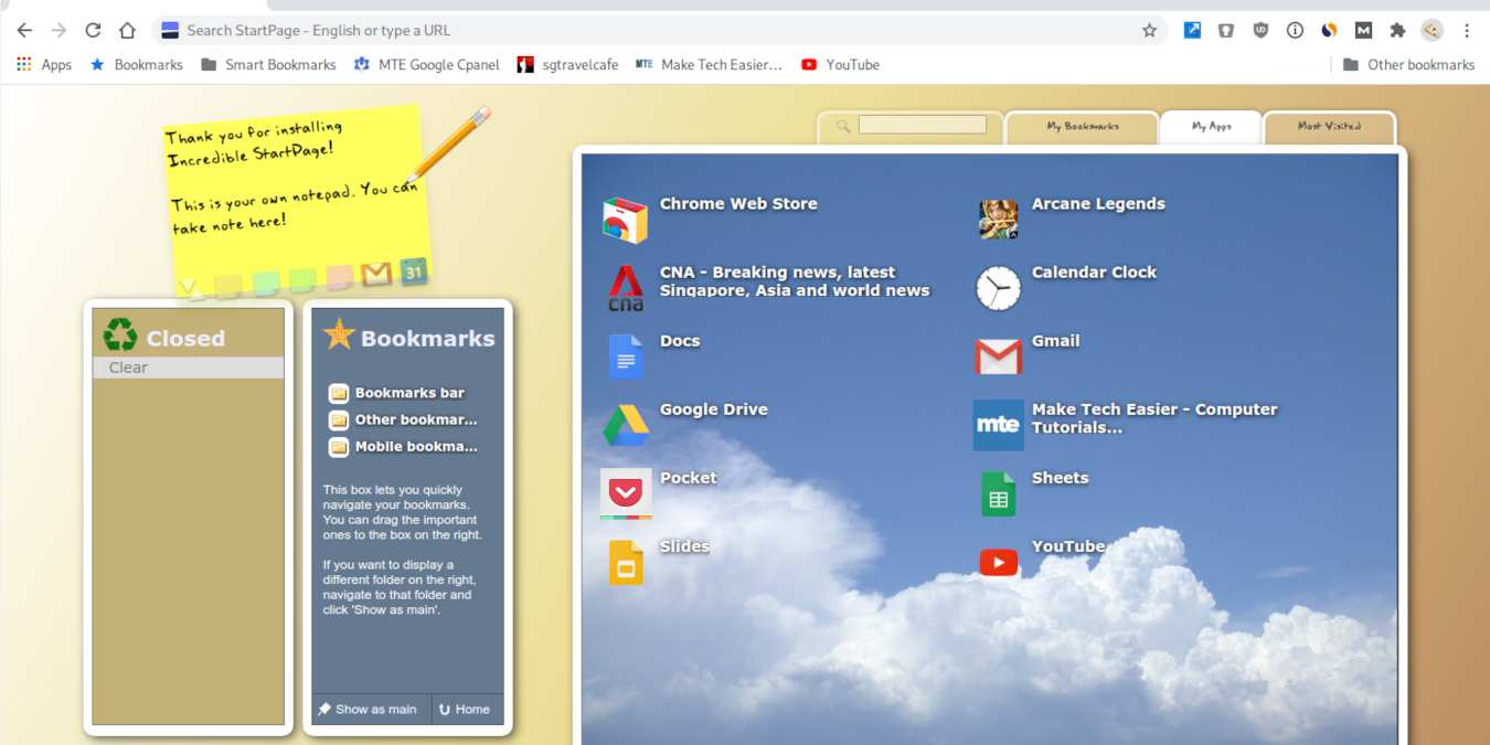 Las mejores extensiones de Chrome para refrescar la página de la nueva pestaña
