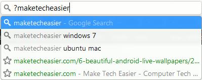 Más consejos y trucos de Google Chrome Omnibox