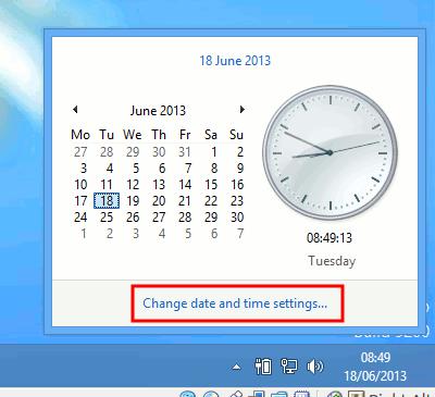 Añadir relojes adicionales al área de notificación en Windows