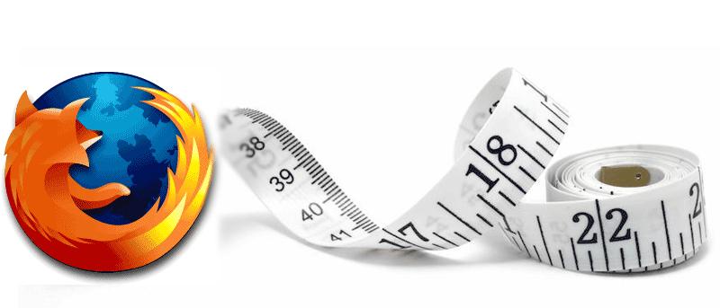 Cómo convertir medidas dentro de Firefox