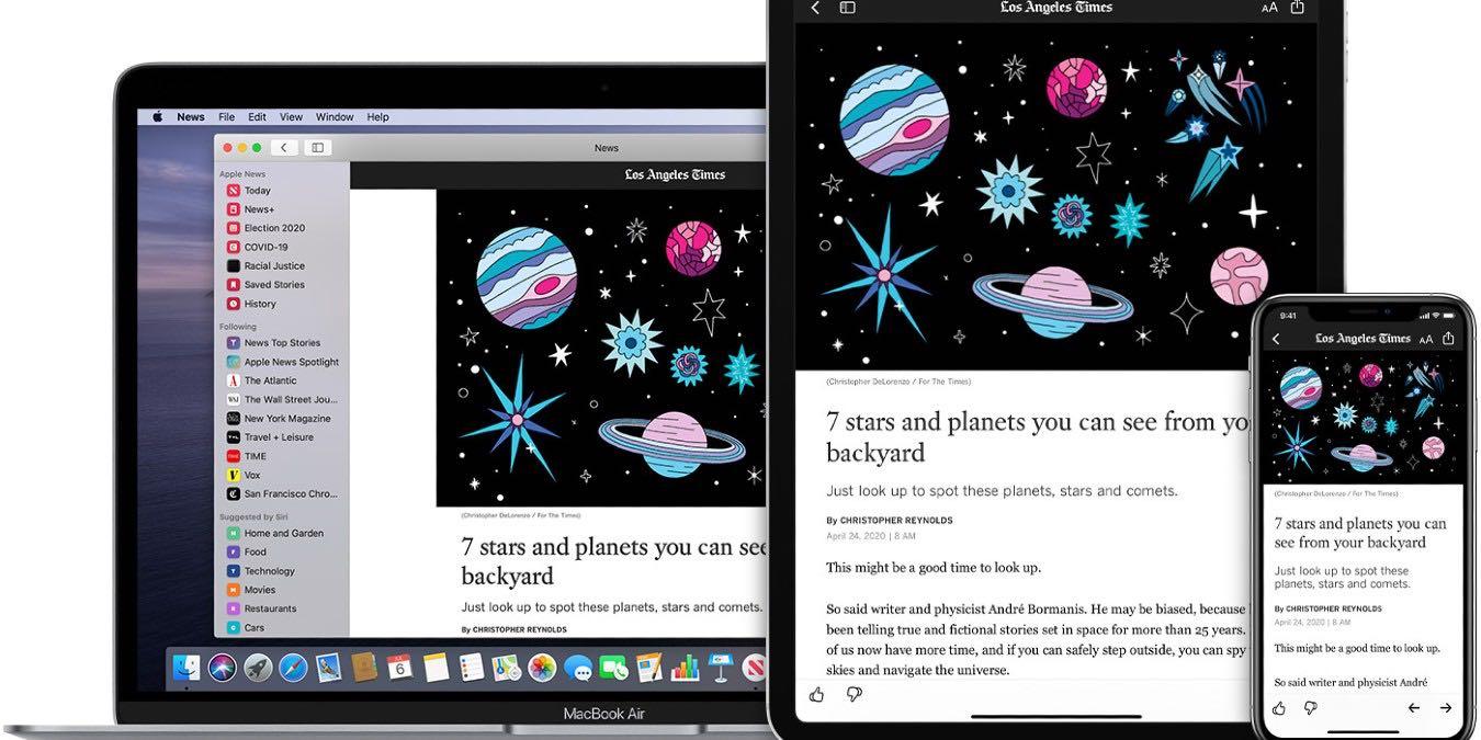 Cómo personalizar la aplicación Apple News en Mac