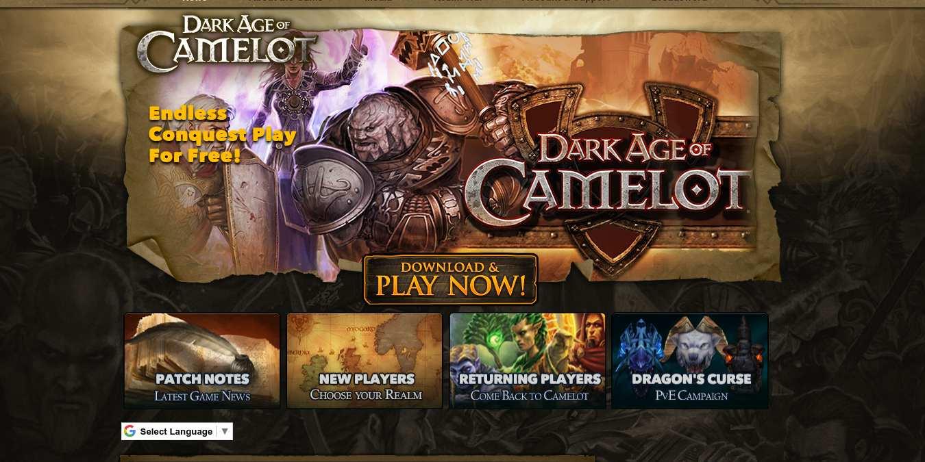 Cómo configurar su propio servidor (gratuito) de Dark Age of Camelot