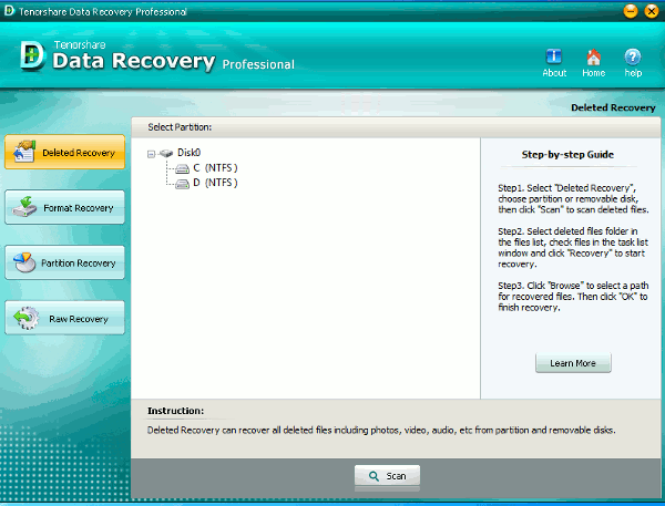 Sorteo de cumpleaños de tecnologiafacil.org: Tenorshare Data Recovery Professional (Actualización: Concurso finalizado)